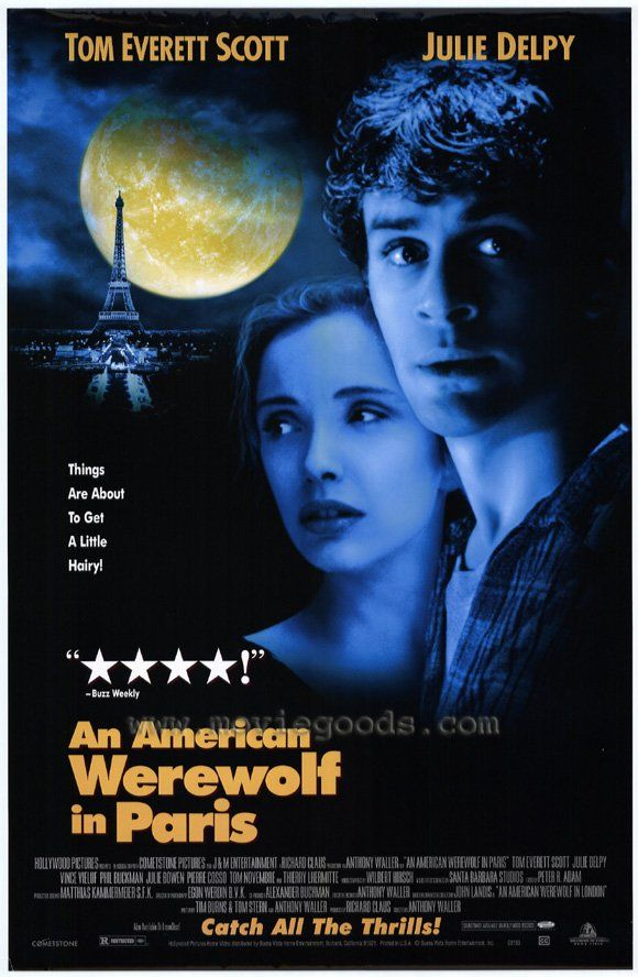 An American Werewolf In Paris Lobisomem Cartaz De Filme