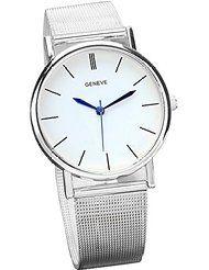 Yasalu Women's Fashion Stainless Steel Band Quartz Wrist Watch Sliver by Yasalu $4.44