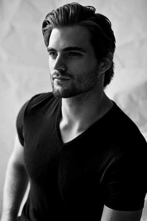 Medium Straight Mid Length Hair Medium Straight Men Hairstyles Outfitseep