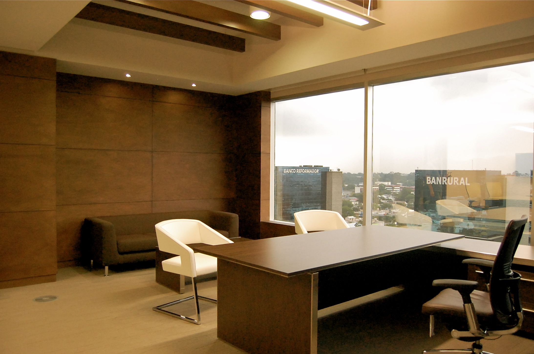 Executive office interior design new ideas home decor for Interior designs of offices