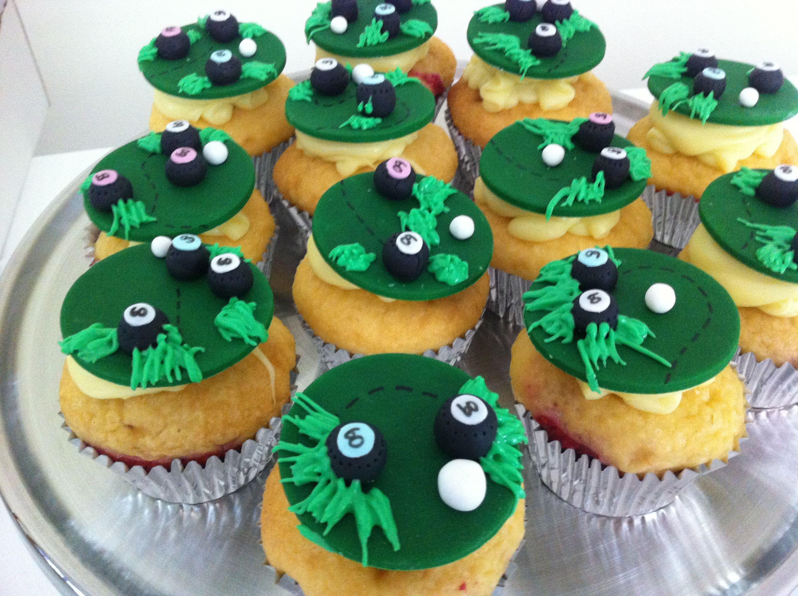 lawn bowls cupcakes u2022 by baking gorgeous www bakinggorgeous com