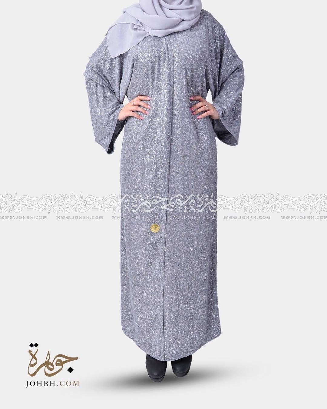 رقم الموديل 1261 السعر بعد الخصم 230 ريال عباية لف بكم مربع وقماش عصري بلون رمادي متوسط ولمسة فضيه ناعمة لطلة شبابية ملفتة عب Fashion Maxi Dress Dresses