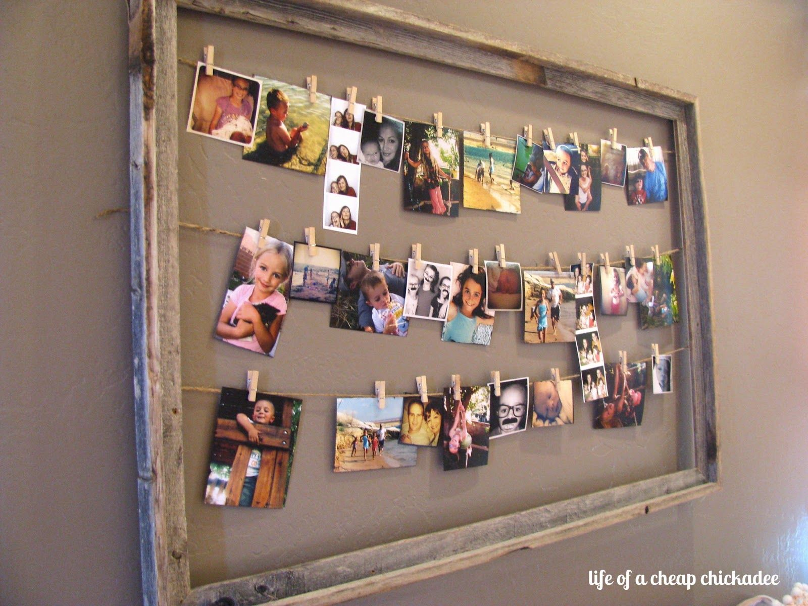 Photo Display - easy to change out