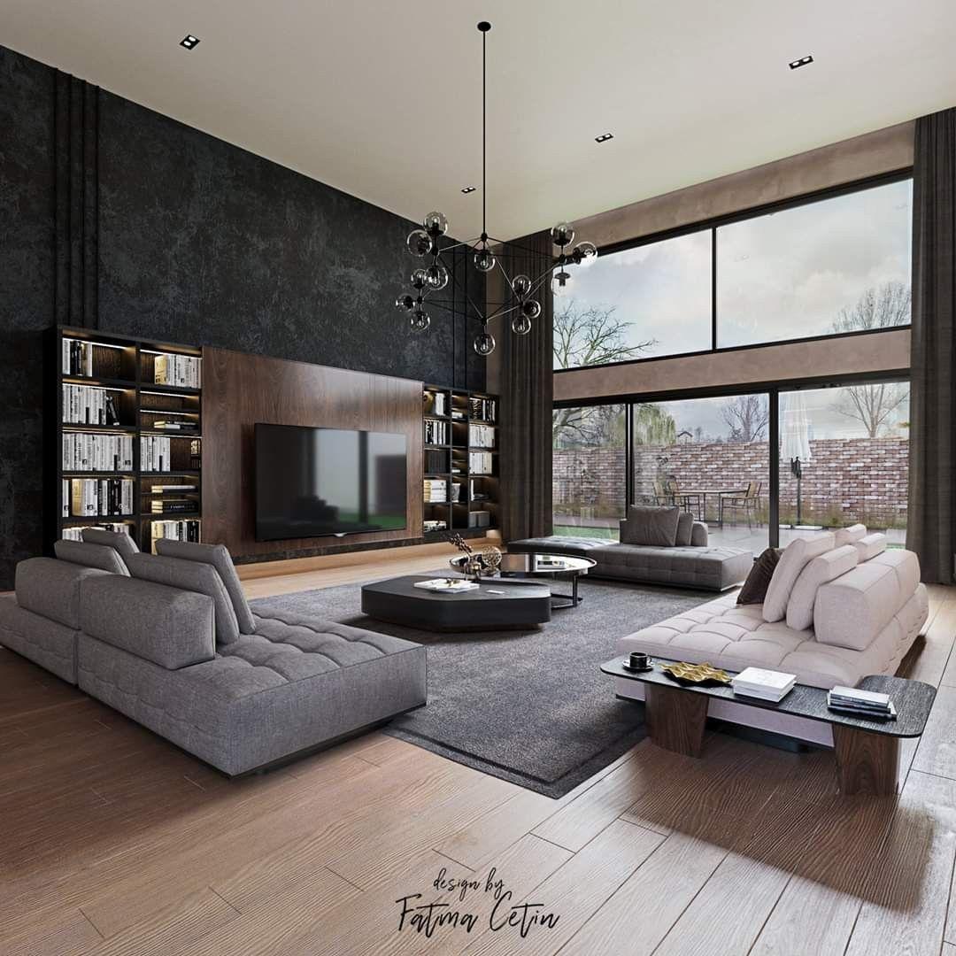 Loft open space in vendita. Pin By Dario Schiavon On Blender Modern Living Room Loft Living Room Loft Modern Loft Apartment