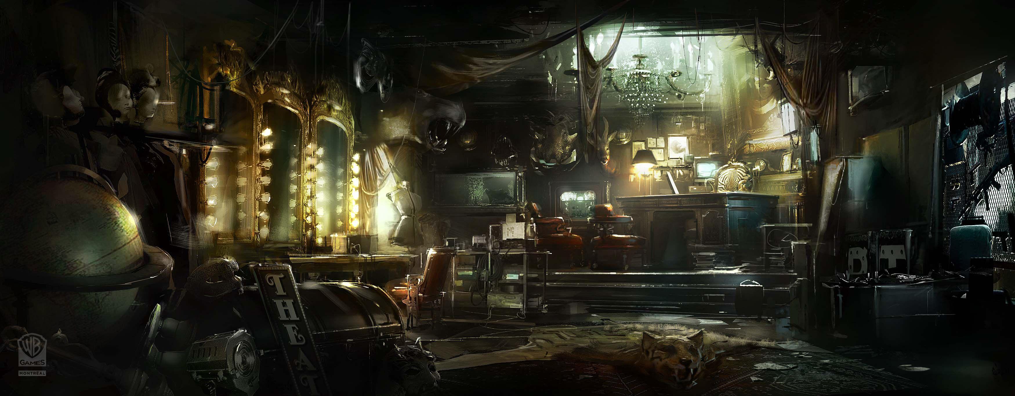 Wallpaper Ready Batman Arkham Origins Concept Art Fantasy