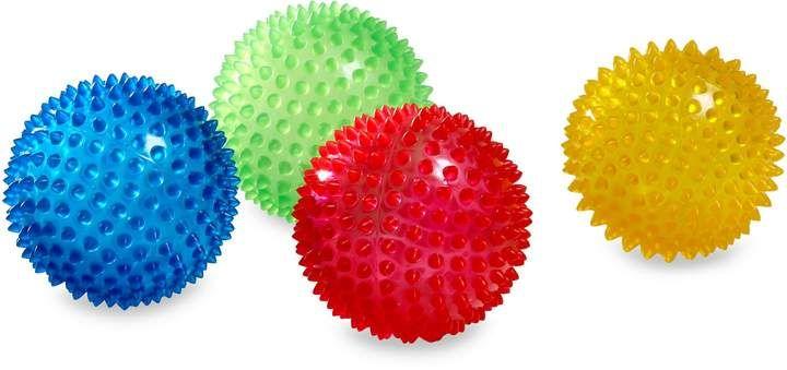 Edushape Edushape 4Inch Sensory Balls Set of 4
