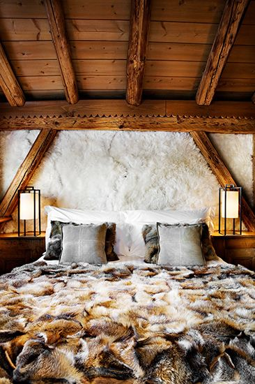 Game of Thrones  This looks like Winterfell. Let It Snow  6 Decorating Ideas For a Chic Ski Home   Gaming