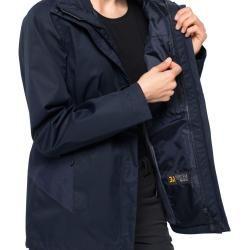 Jack Wolfskin Hardshell-Jacke Frauen Marble Rock Jacket Women Xxl blau Jack WolfskinJack Wolfskin #metallicleather