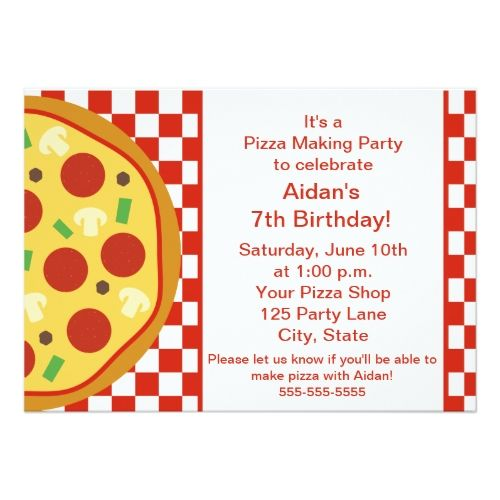 Pizza party invitation stopboris Image collections