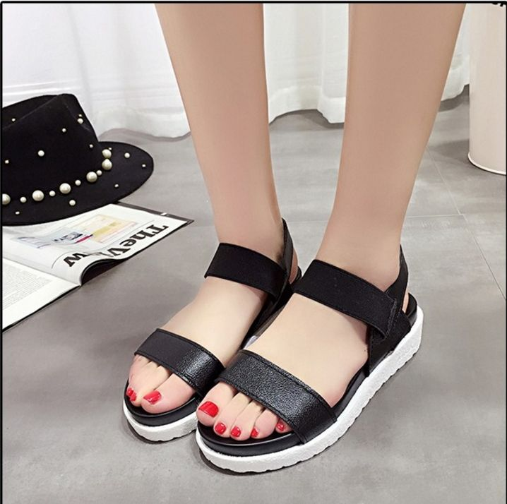 2d155a5823a Women Summer Shoes Sandals Peep-Toe Flat Shoes Roman Sandals ITC831. -  Sandals   Flip Flops