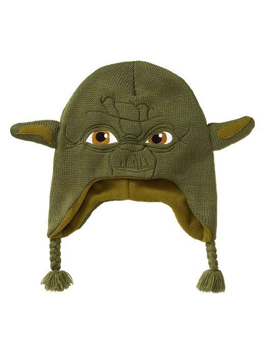Behold the Yoda tassle hat! For uber geeks! :)