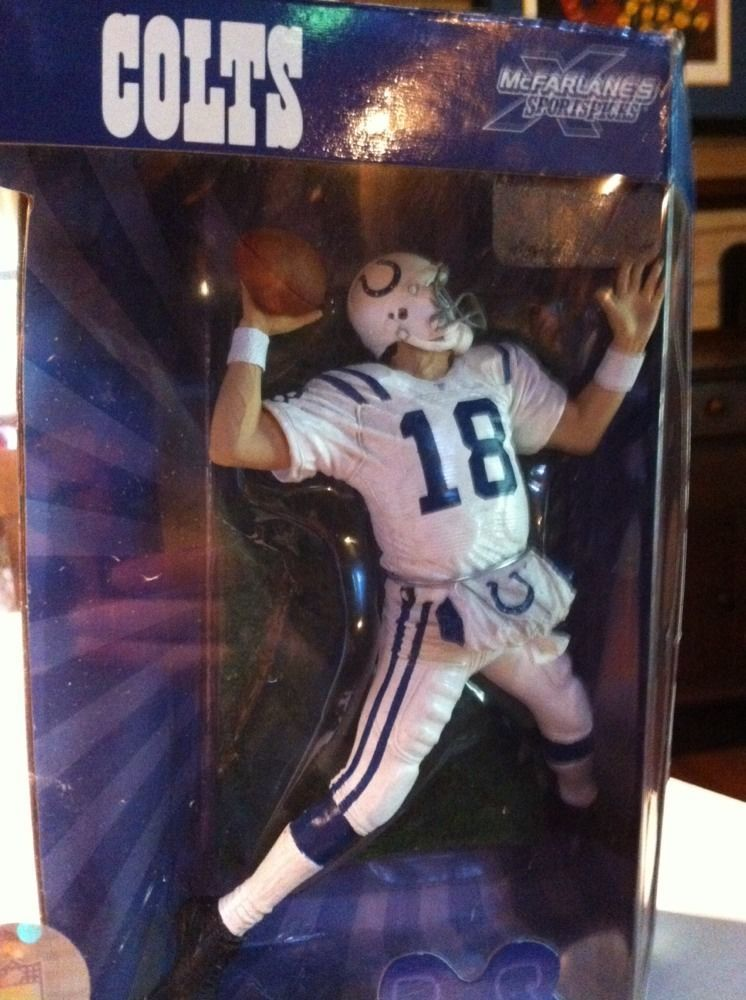 e0f52a1a PEYTON MANNING #18 McFarlane Figure NFL Collectors Edition 15th ...