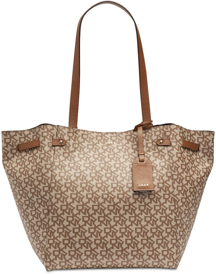 c2aaba7a2a40 DKNY Ludlow Signature Tote, Created for Macy's | Rebeka ötletei in ...
