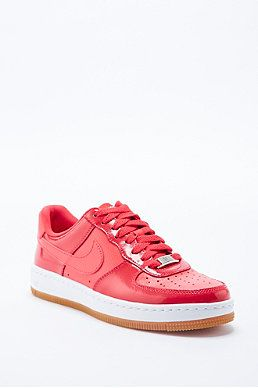 wholesale dealer b932a 5e0fd Shop Nike Air Force One Low Trainers in Red at Urban Outfitters today. We  carry all the latest styles, colours and brands for you to choose from  right here.