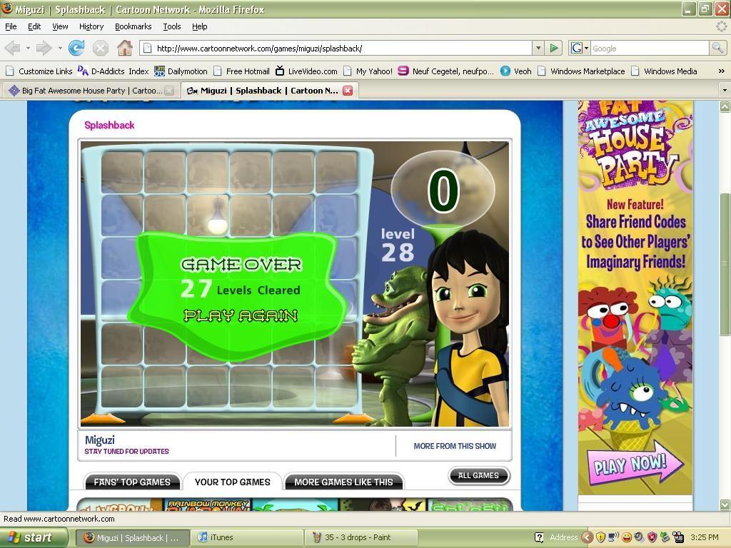 [2008] Splashback Cartoon Network It wasn't featured on