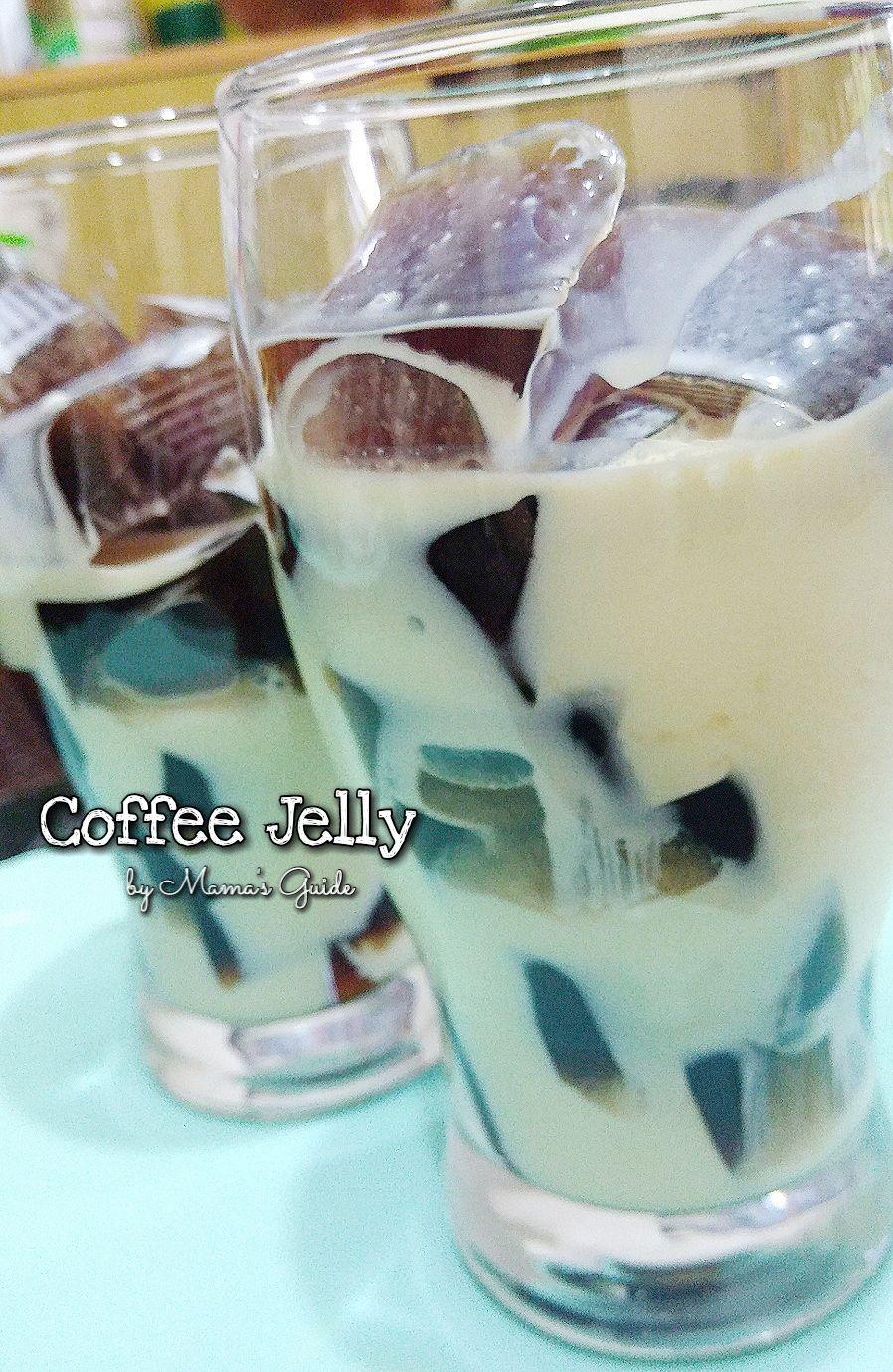 Coffee Jelly Coffee jelly, Jelly recipes, Fun desserts