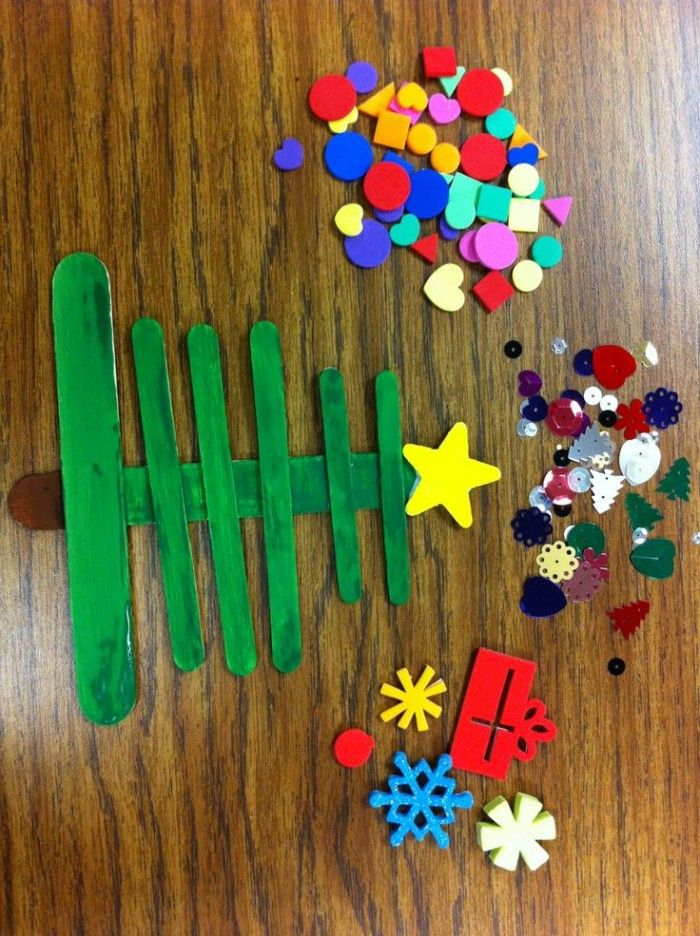 Wonderful Kids Xmas Craft Ideas Part - 6: 25 Fun And Easy Holiday Crafts For Kids