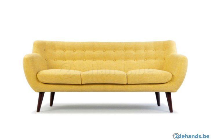 retro vintage sofa zetel bank sofacompany te