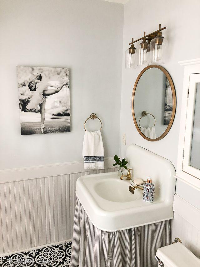 Photo of Magnolia Cottage: Vintage Small Bathroom Update | 11 Magnolia Lane