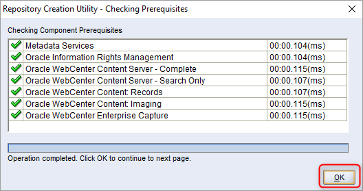 How to install Oracle WebCenter content 11 1 1 9 0 - Part 2 - Create