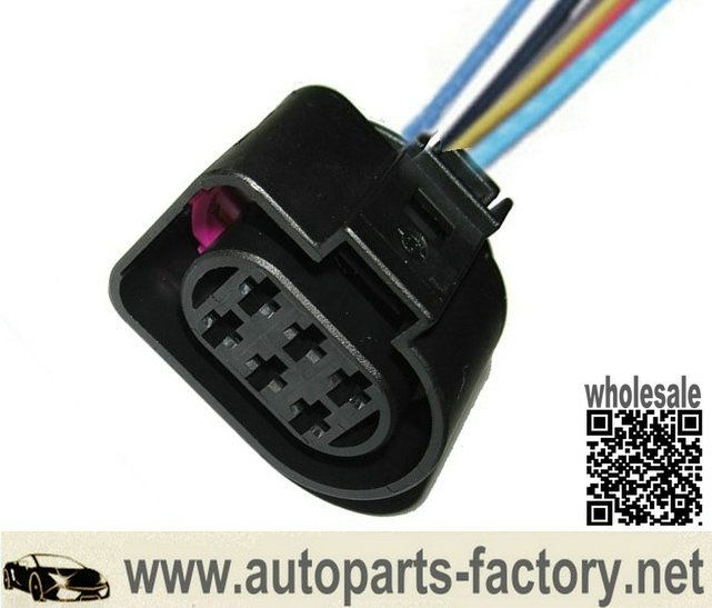 20pcs lsu 4 2 sensor connector pigtail for vw 1j0973733 6 way 350 rh pinterest com vw tdi glow plug wiring harness