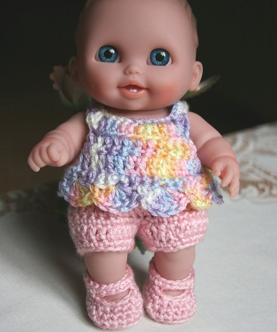 Crocheted Outfit For 8 85 Inch Doll Lil By Dollcrochetboutique