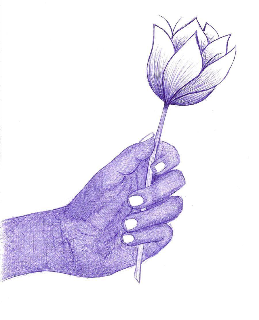 Obrigada #flor #mão