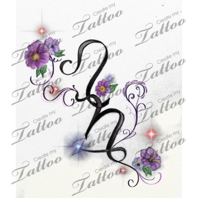 capricorn and leo signs entwined together custom tattoo ...
