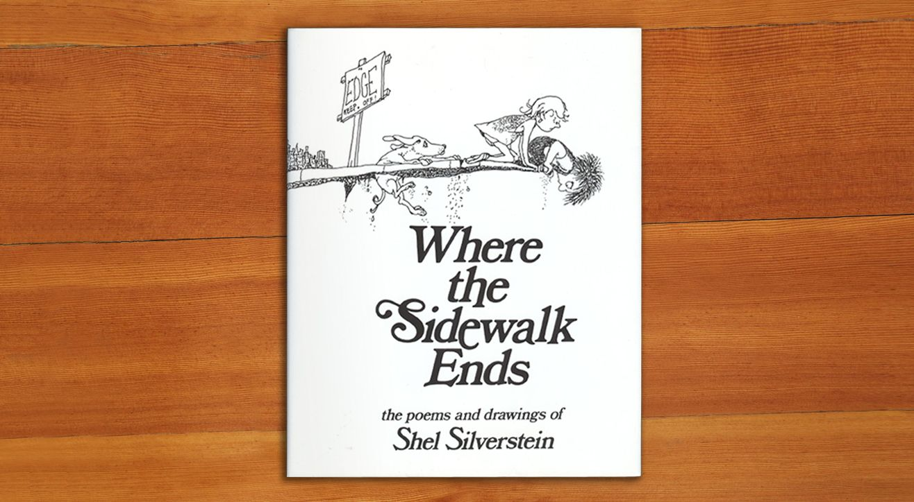 """We loved Shel Silverstein's poetry as kids. Now we're starting to share these poems with our own kids – and getting lots of giggles. """"Where the Sidewalk Ends,"""" is a perfect pace to start. #WhatWeeRead   Wee Society"""
