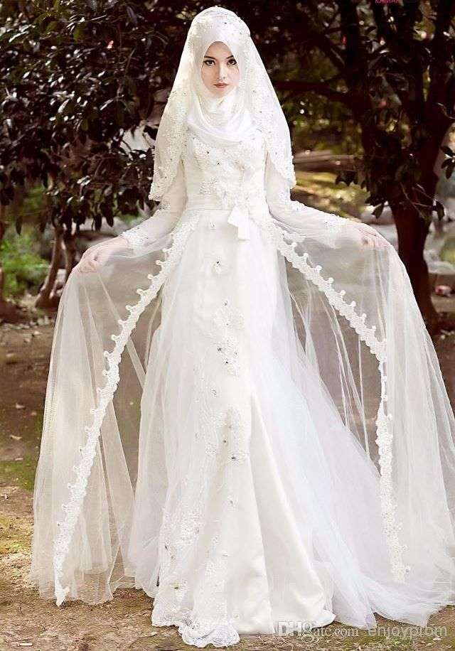 Muslim wedding dress | M - FiXStyle | Pinterest | elegante Braut ...