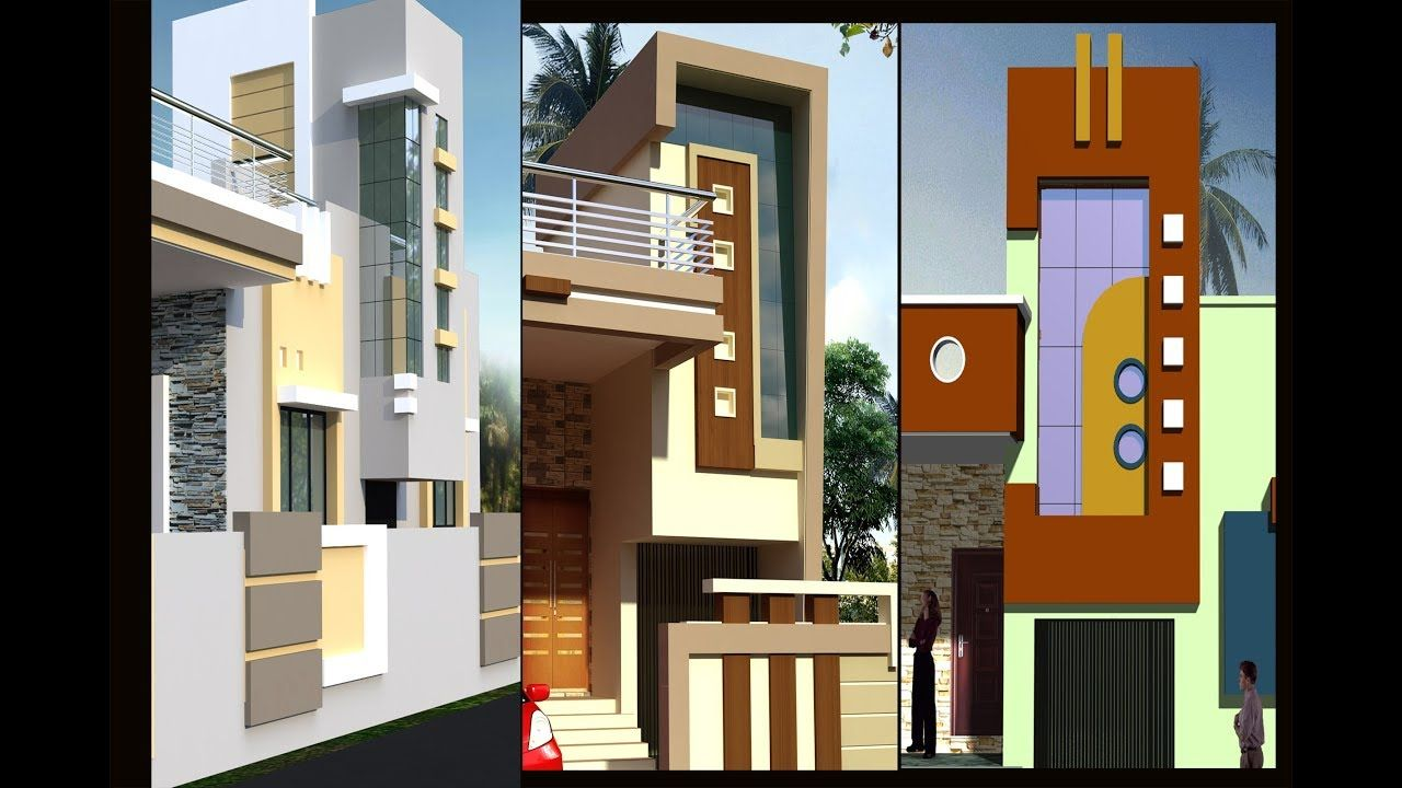 Indian Staircase Tower Designs Small House Front Design Tower | House Design With Stairs In Front | Victorian | Second Floor | Colour | Residential | Low Cost 2 Bhk House