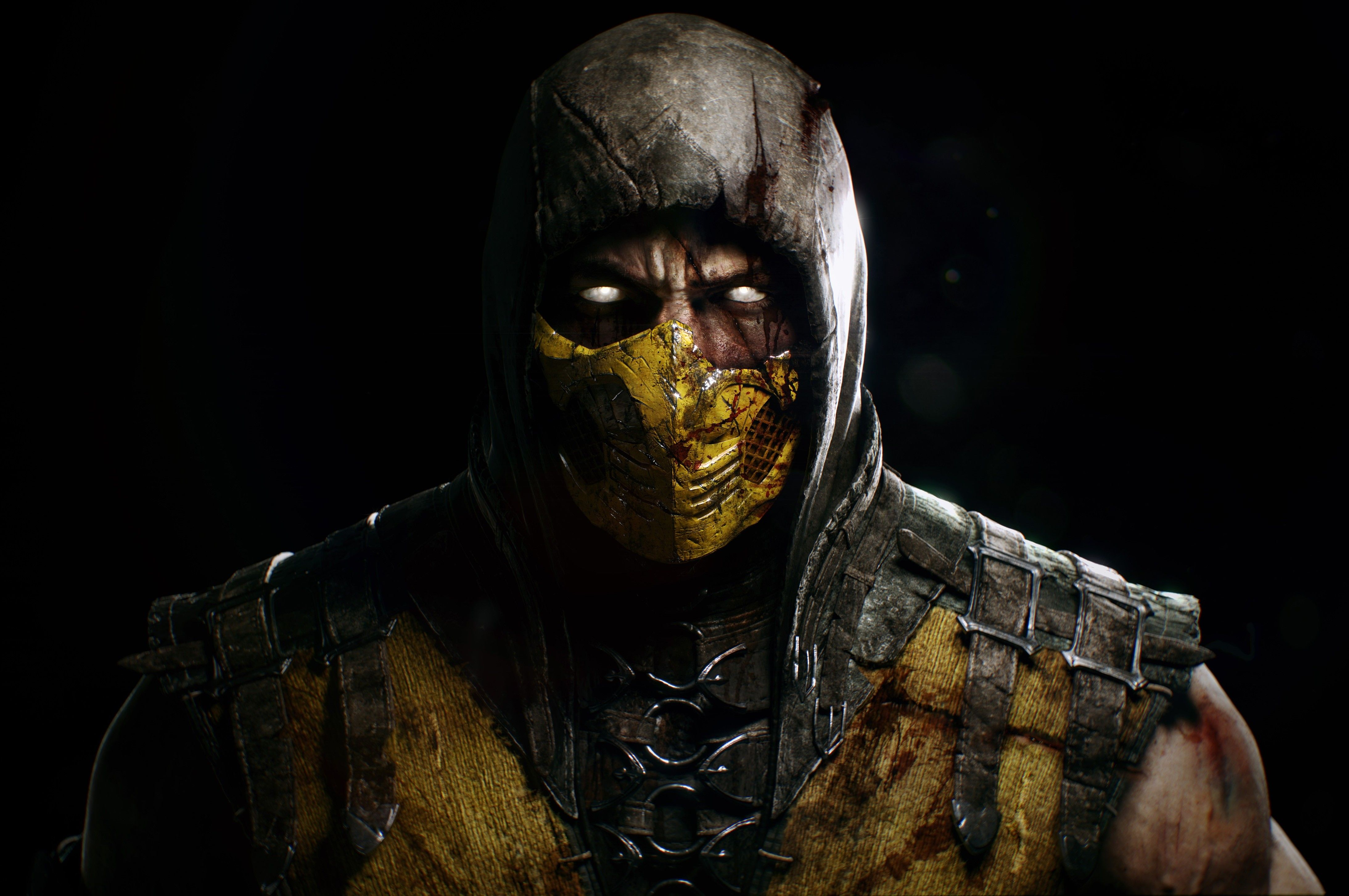Mortal Kombat X Subzero Vs Scorpion Hd Desktop Wallpaper High Cool
