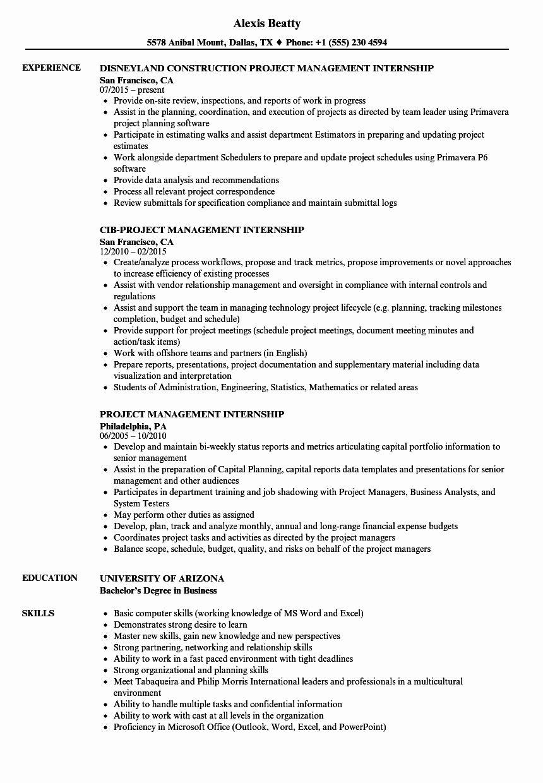 25 Civil Engineer Intern Resume Engineering resume