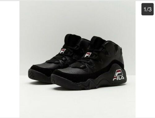 buy online b9c6e 6d363 Fila The 95 size 14 Blackout 1VB90040-008 Grant Hill Detroit Pistons OG  Retro