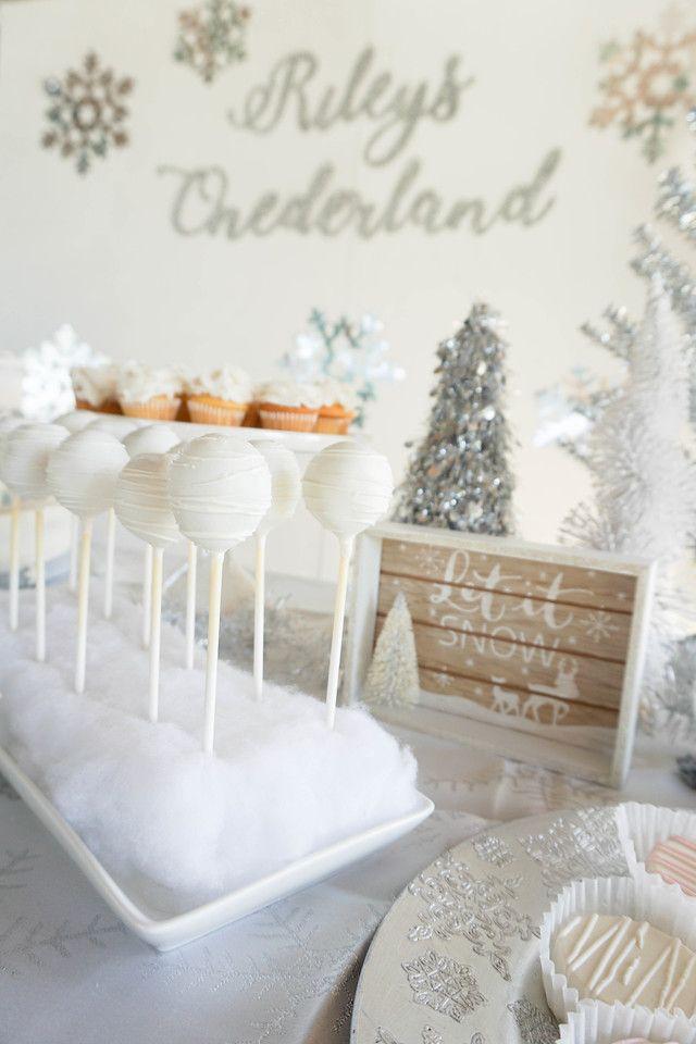 Winter Onederland – Babys First Birthday Party