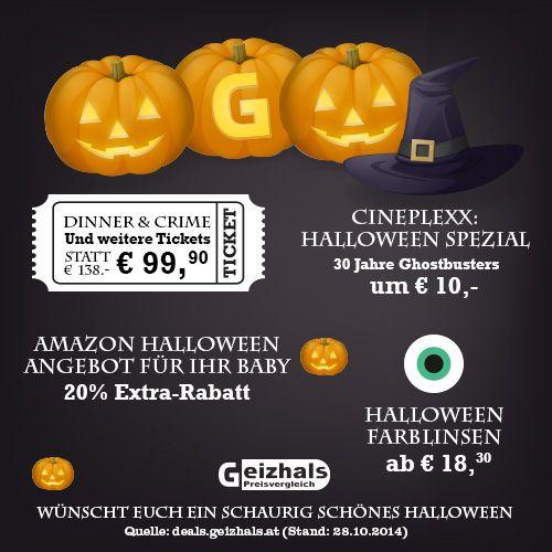 Fröhliches Gruseln! Die besten Last-minute Deals für #Halloween findest du hier: http://deals.geizhals.at/tagged/halloween