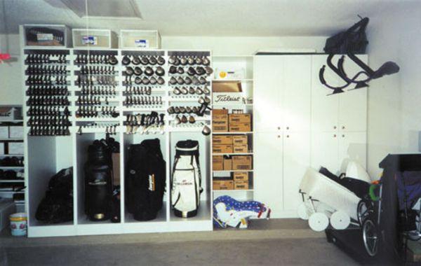 9 Golf Storage Ideas, Golf Club Storage Garage