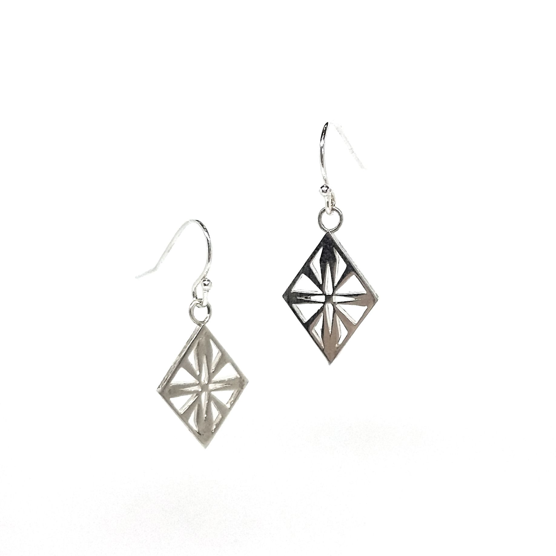 Artdeco Diamond Earrings The Much Coveted Art Deco Diamond Collection From  Blackbird London Hook Earrings With Freefloating Diamond Drop Design