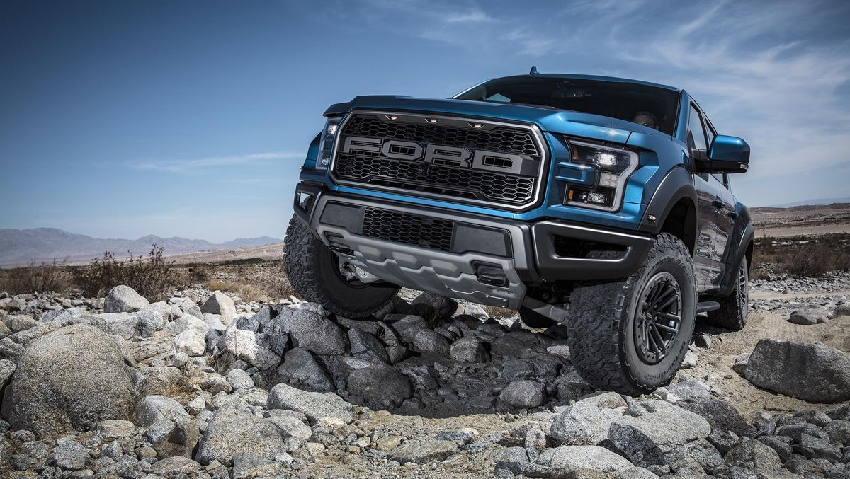 2020 Ford F-150 Raptor  All pickups are very much like those beefed-up humans trying to make a name
