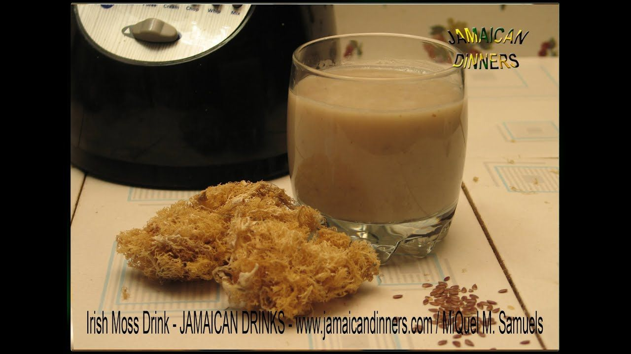 Jamaican irish moss drink recipe in 2020 with images