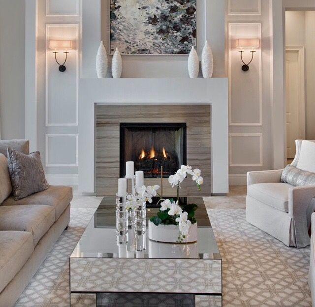 Fireplace surround Decor Pinterest Amo, Deco y Hogar