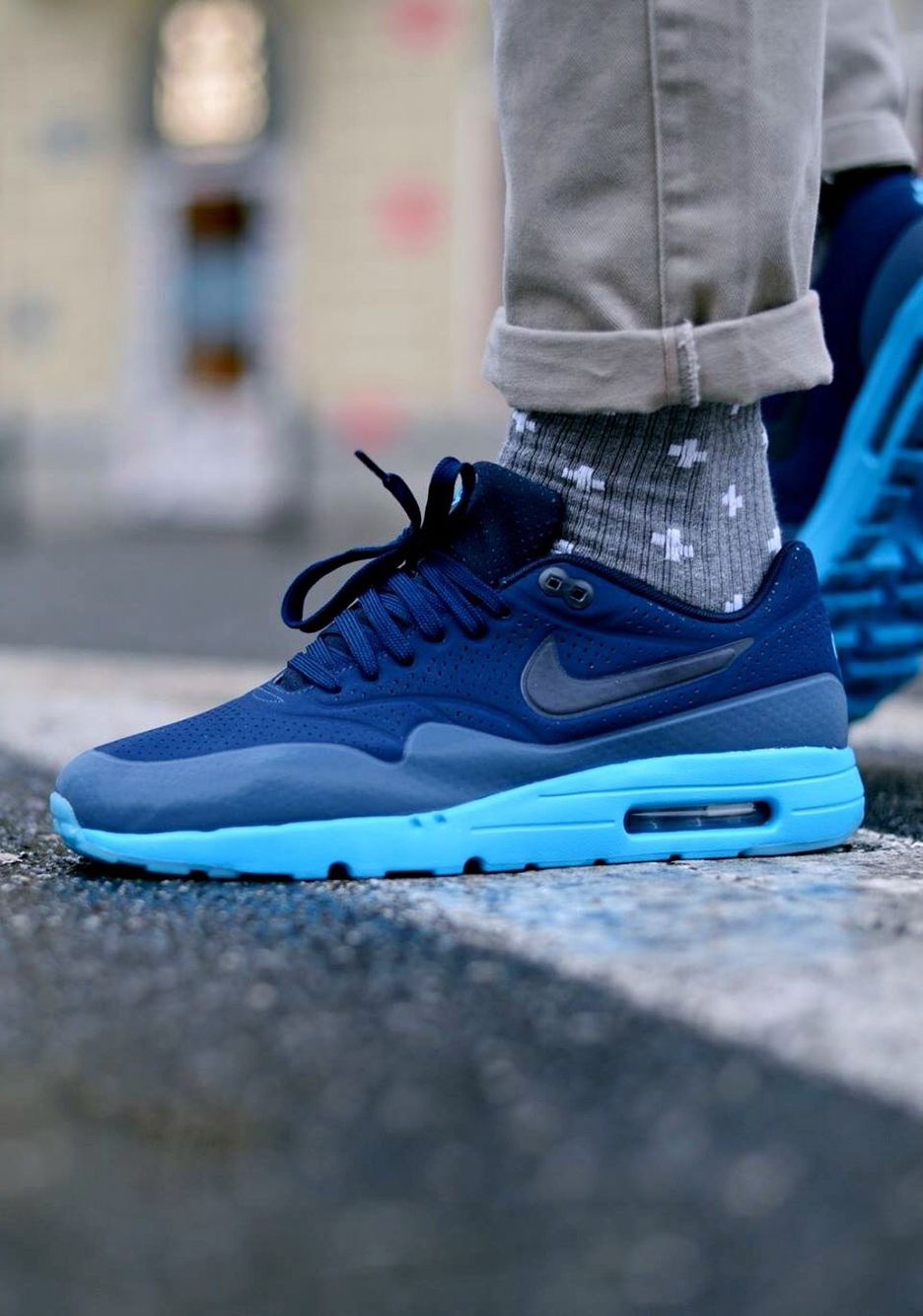 Nike Air Max 1 Ultra Moire: Blue