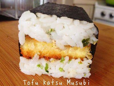 Wholly Vegan: VeganMoFo Day 5: Tofu Katsu Musubi