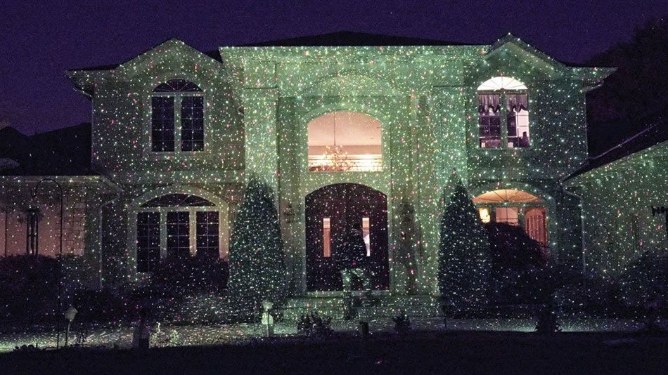 Star Shower Outdoor Laser Christmas Light Projects Cheer On Your ...