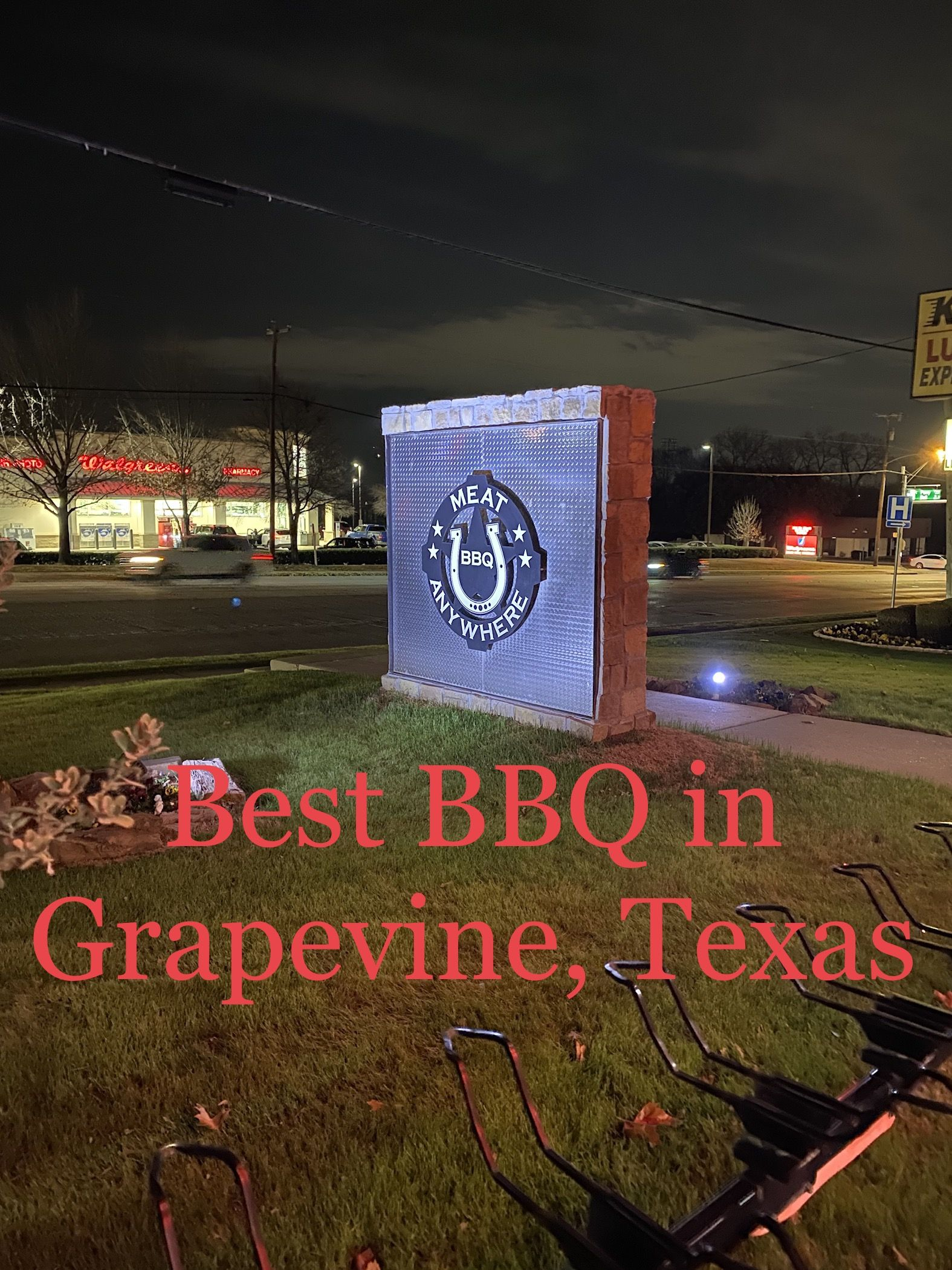 Best BBQ in Grapevine Texas and it's NOT on Main Street