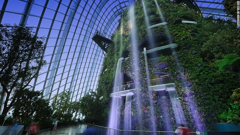 Living Near Nature Could Help You Live Longer Indoor Waterfall