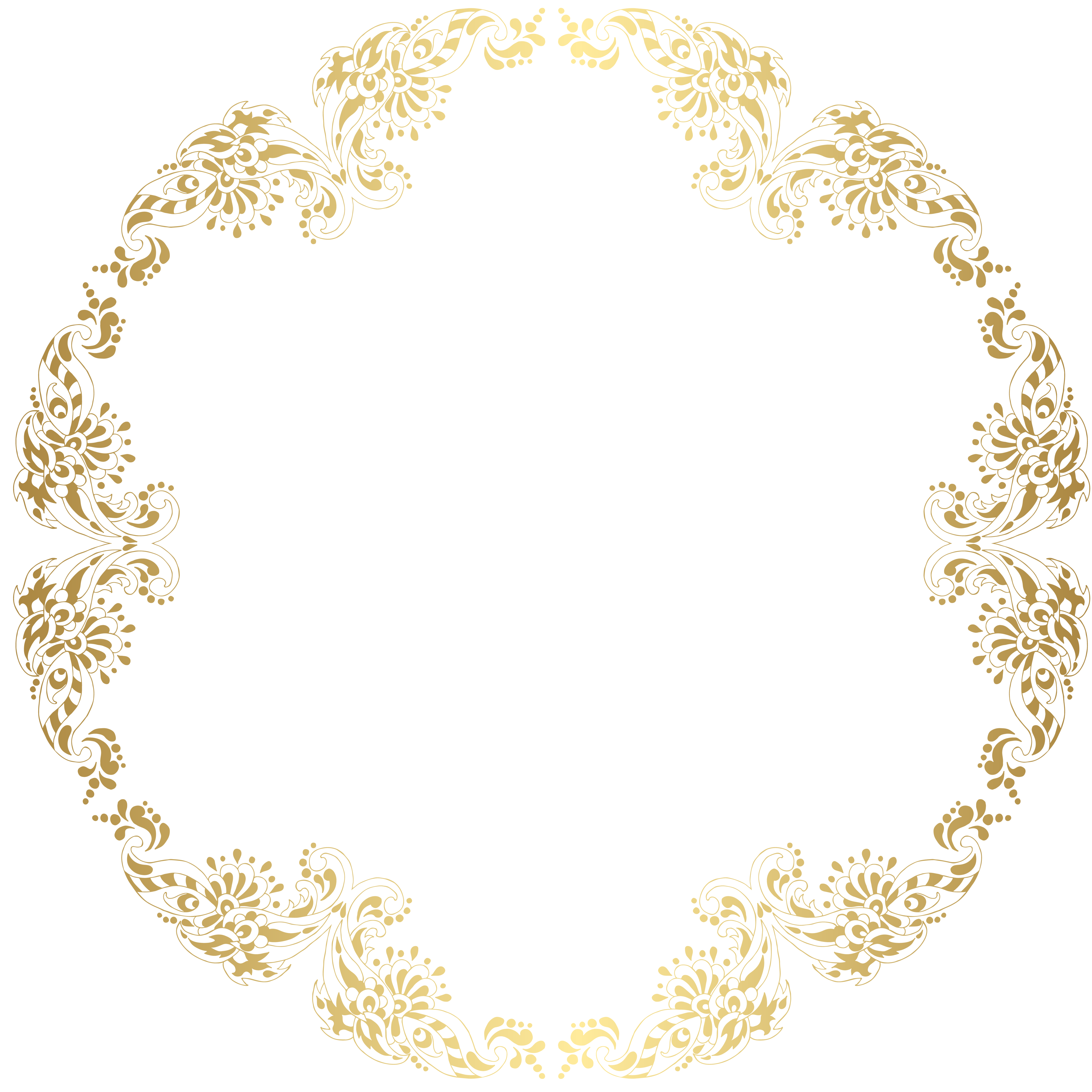 Golden Circle Sliding Frame Pattern Curve Of Gold Stripes Move The Golden Arches Frame Vector Png And Vector With Transparent Background For Free Download Gold Circle Frames Golden Circle Circle Frames