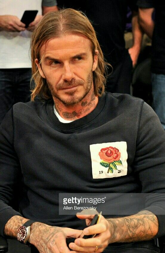 Long Hair David Beckham Hairstyle David Beckham Long Hair Beckham Hair