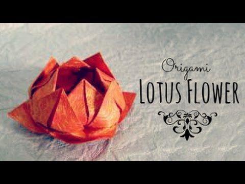 Make a simple origami lotus flower lotus flower origami and make a simple origami lotus flower lotus flower origami and simple origami mightylinksfo