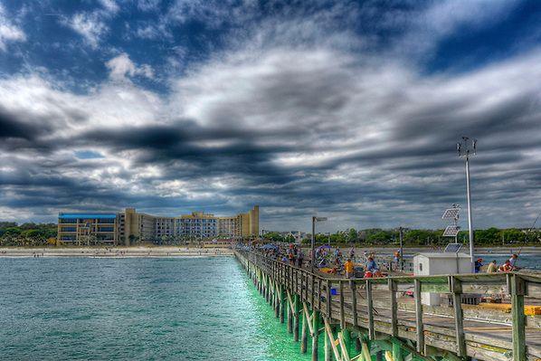 Springmaid Pier In Myrtle Beach Sc